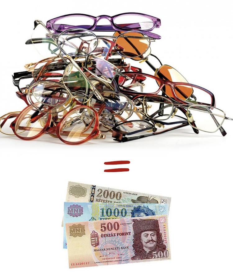 Használt szemüveg beszámítás