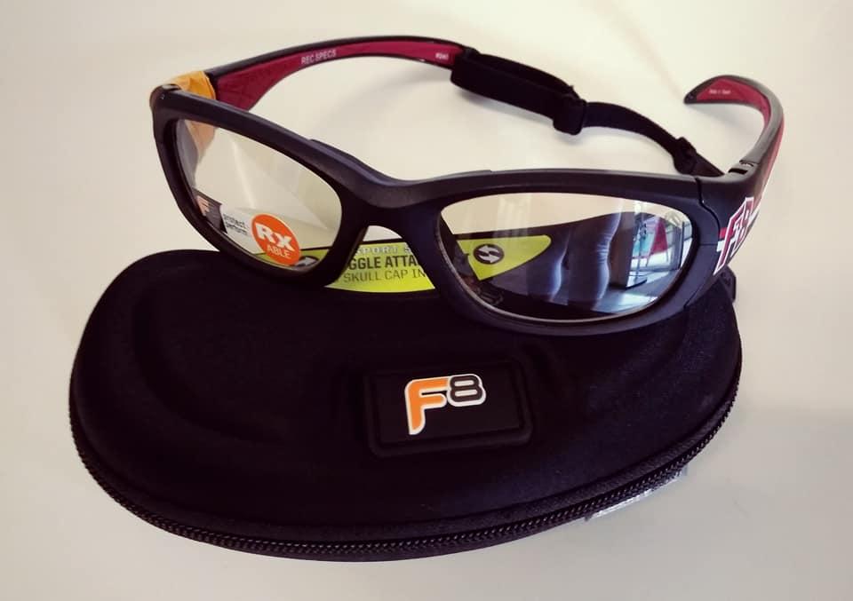 Dioptriás sportszemüvegek is rendelhetők